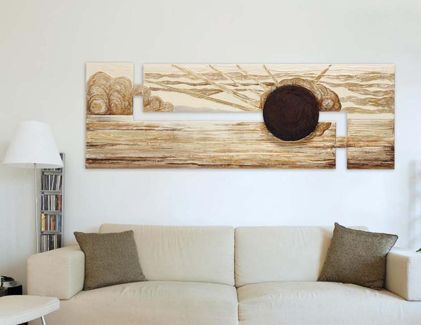 Mussi arreda dispone di un amplissima gamma di quadri for Quadri per soggiorni moderni